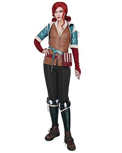 miccostumes Women's Triss Merigold Cosplay Costume Outfit (M)