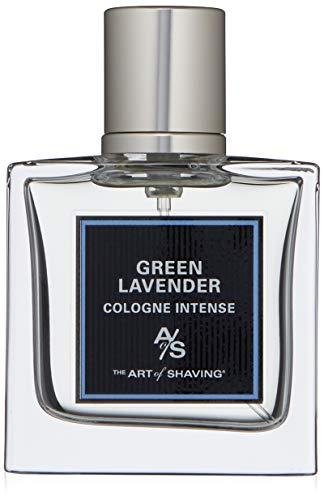 The Art of Shaving Cologne Intense, Green Lavender, 1.0 Fl Oz