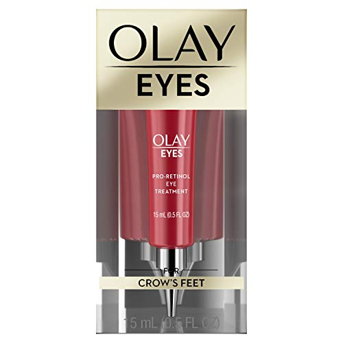Olay Eyes Pro Retinol Eye Cream Anti-Wrinkle Treatment for Crow's Feet, 0.5 fl oz