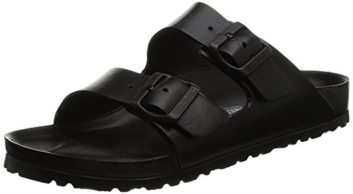 Birkenstock Unisex Arizona Essentials EVA Black Sandals - 41 M EU