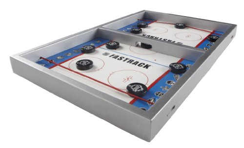 Blue Orange Fastrack NHL Board Game- The Authentic Disc Slinging Fast Action Game