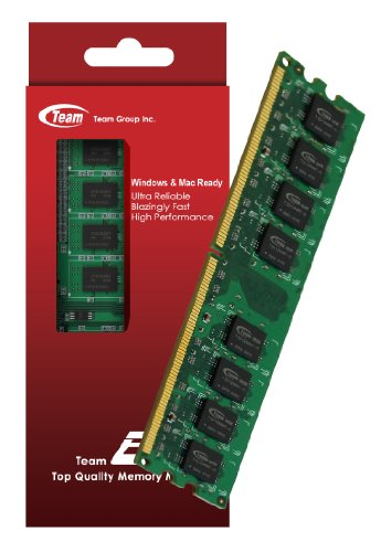2GB Team High Performance Memory RAM Upgrade Single Stick For HP - Compaq Pavilion Slimline s5503w s5510br s5510f s5510y Desktop. The Memory Kit comes with Life Time Warranty.