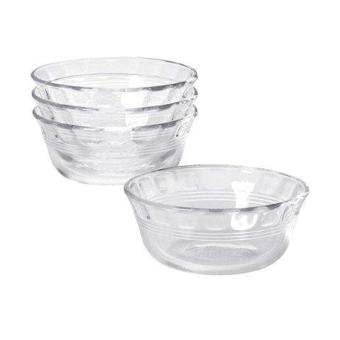 Pyrex, Clear Glass Original 10 oz Custard Cup (4 Pack)