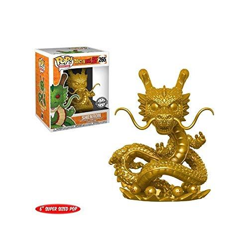 Funko Pop Dragon Ball Z Shenron Gold #265 6' Vinyl Figure