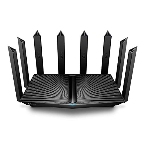 TP-Link AX6600 WiFi 6 Router (Archer AX90)- Tri Band Gigabit Wireless Internet Router, High-Speed ax Router for Gaming, Smart Router for a Large Home