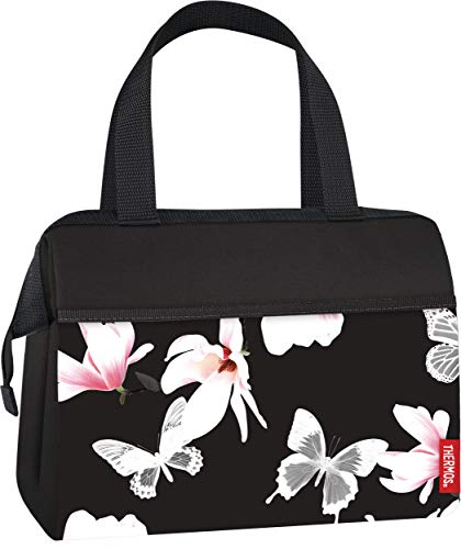 Thermos Raya 9 Can Duffle drink cooler bag, Magnolia Butterfly