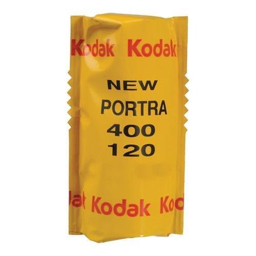 Kodak Portra 400 Professional ISO 400, 120mm, Color Negative Film (1 Roll) 2-Pack