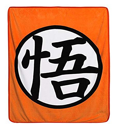 Great Eastern Entertainment Dragon Ball Z Throw Blanket, Multicolor