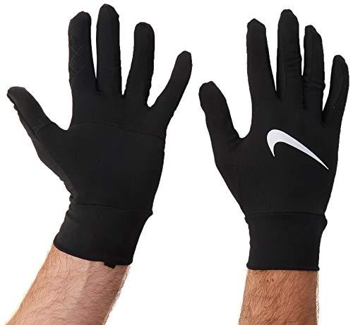 Nike Men's Dri-Fit Element Running Gloves-Black-Medium