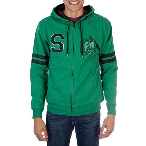 Harry Potter Slytherin Fleece Hoodie Large Green