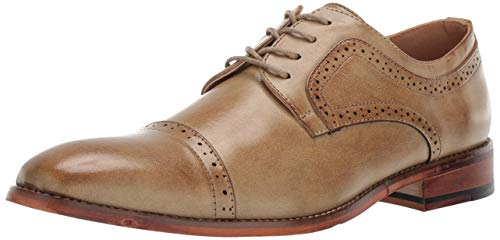Unlisted by Kenneth Cole Men's Cheer Lace Up Oxford, tan, 10 M US