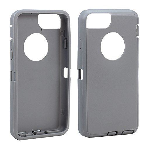 Apple iPhone 6 4.7 inch Replacement Generic Aftermarket TPE Silicone Skin for Otterbox Defender Series Case Cover for Apple iPhone 6 4.7 inch - Gray Outer Skin Only
