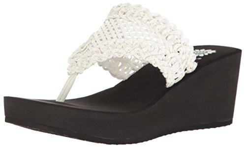 Yellow Box Charm Women's Sandal 11 B(M) US White