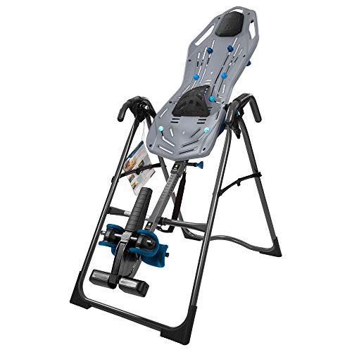 Teeter FitSpine X2 Inversion Table, Extended Ankle Lock Handle, Back Pain Relief Kit, FDA-Registered (FitSpine X2)