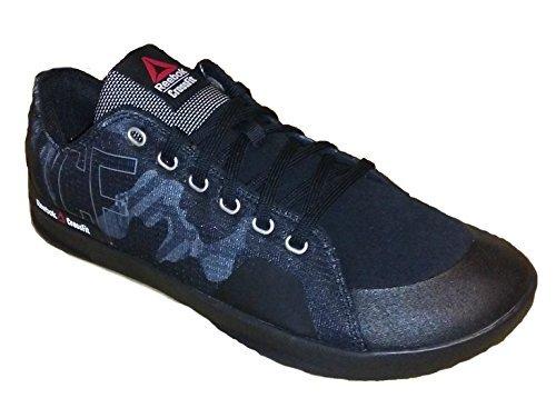 Reebok Mens Crossfit Lite Lo TR 2.0 GR Fitness Shoe Black/Alloy/White (8)