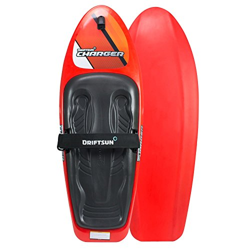 Driftsun Charger Kneeboard with Hook for Kids and Adults, Includes Boating Strap and Hook, Knee-Board Water-Sports, 54-Inches x 20-Inches