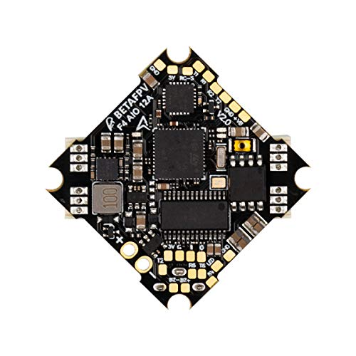 BETAFPV F4 2-4S AIO 12A Brushless Flight Controller V2 No RX BLHELI_S 12A ESC with XT30 Cable for Beta75X HX100 Brushless Whoop Drone