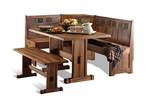Sedona Breakfast Nook Set w/ Side Bench 4PC Set