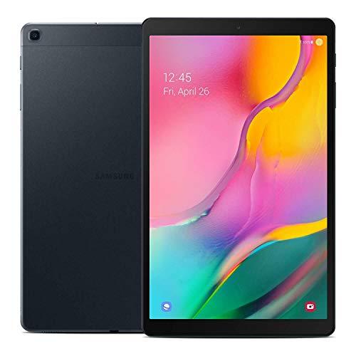Samsung Galaxy Tab A 10.1' (2019, WiFi + Cellular) Full HD Corner-to-Corner Display, 32GB 4G LTE Tablet & Phone (Makes Calls) GSM Unlocked SM-T515, International Model (32 GB, Black)