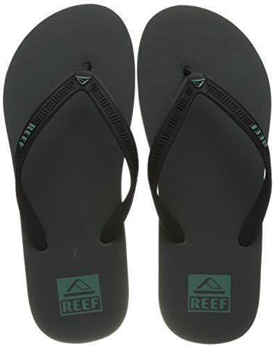 Reef Men's Flip-Flop, Grey, 13