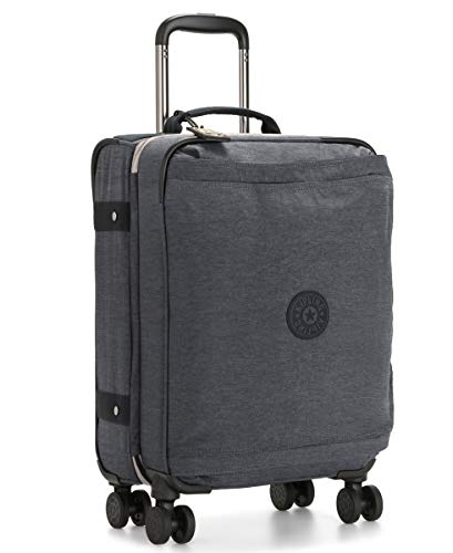 Kipling Spontaneous Softside Spinner Wheel Luggage, Charcoal, Carry-On 21-Inch