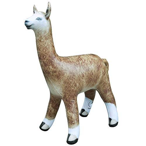 Jet Creations Inflatable Alpaca Height Party Favors Supplies Gifts, 30' Stuffed Animals An-Alpa