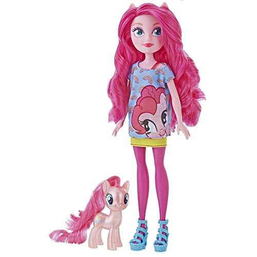 My Little Pony Equestria Girls Through The Mirror Pinkie Pie -- 11' Fashion Doll with Pink Pony Figure, Removable Outfit & Shoes, Ages 5+