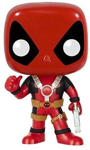 Funko POP Marvel: Deadpool Thumbs Up Action Figure,Multi-colored
