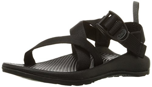 Chaco unisex child Z1 Ecotread Kids Sport Sandal, Black, 5 Big Kid US