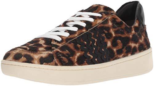 Loeffler Randall Women's Elliot LACE UP Sneaker with RIC RAC, Light Leopard, 7 Medium US