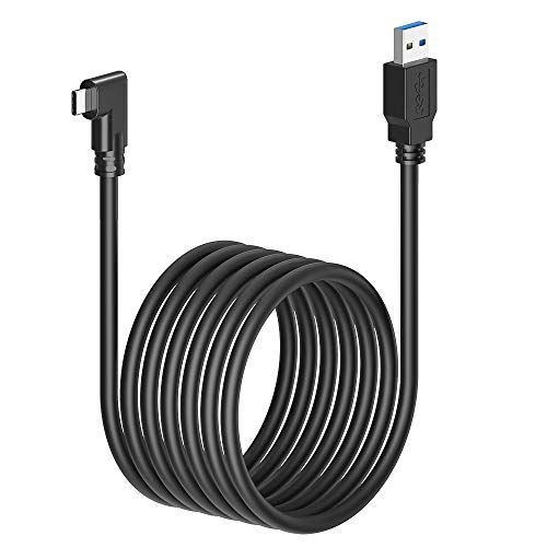 Compatible for Oculus Link Cable 10ft, DHH USB 3.2 Gen1, USB C to A, High Speed Data Transfer & Fast Charging Cable Compatible for Quest 1/2 Headset to a Gaming PC…