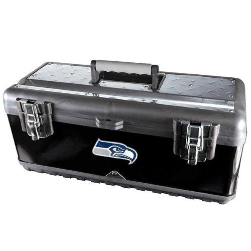 NFL Seattle Seahawks Heavy Duty Steel Toolbox