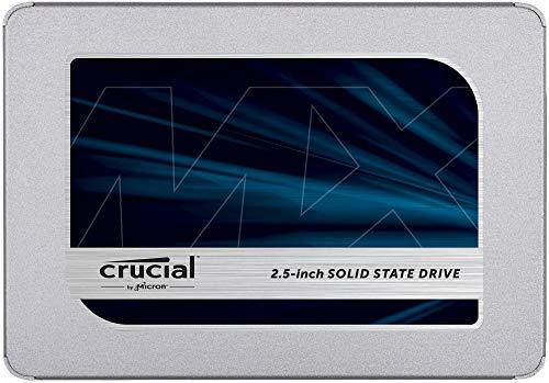 Crucial MX500 500GB 3D NAND SATA 2.5 Inch Internal SSD, up to 560MB/s - CT500MX500SSD1