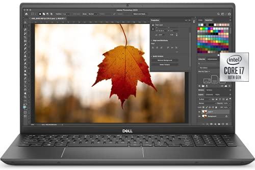 Newest Dell Business Laptop Vostro 7500, 15.6' FHD IPS Backlit Display, i7-10750H, GTX 1650 Ti, 16GB RAM, 512GB SSD, Webcam, Backlit Keyboard, Fingerprint Reader, WiFi 6, Win 10 Pro