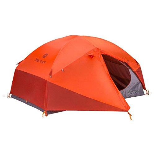 Marmot Unisex Limelight 2P Tent, Cinder/Rusted Orange - One Size