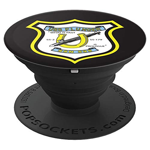 USS Plunger SSN-595 PopSockets Grip and Stand for Phones and Tablets