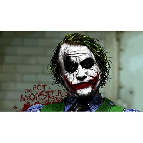 CHENGXI Batman The Joker Puzzles 300/500/1000/1500 Pieces for Adults Wooden Marvel Movie Jigsaw Puzzle Kids Intelligence Toys, 4 Styles R/615 ( Color : C , Size : 500 Pieces )