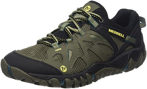 Merrell Men's All Out Blaze AERO Sport Hiking Shoe, Dusty Olive, 10 M US