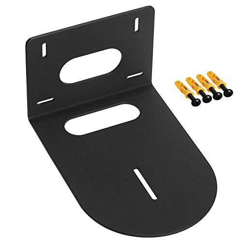 Black Wall Mount Bracket Small Universal for Select Cameras