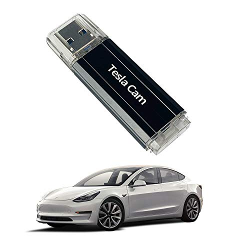 Dashcam Flash Drive for Tesla / Sentry Mode Pre-Configured, Fast, SLC USB Drive for Tesla Model 3/S/X/Y - 32 GB