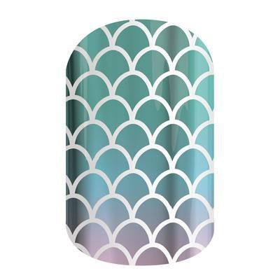 Jamberry Mermaid Tales Nail Wrap (Full Sheet)