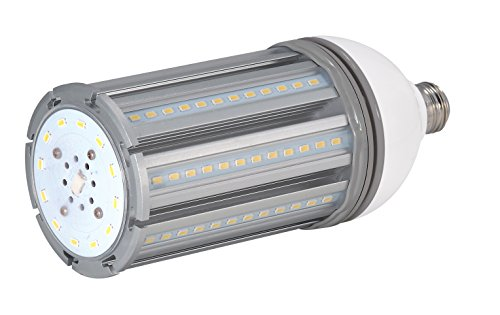 Satco S9392 Series LED Replacement 5000K Medium Base 100-277 Volts, 36 Watt / 4,800 Lumens / (150 Watt) HID Equivalent