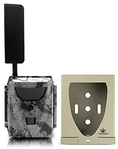 Spartan GoLive Next Generation Cellular Scouting Camera with Steel Security Box (Verizon 4G/LTE)