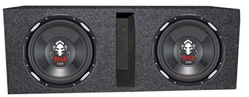 (2) Boss Audio P126DVC 12' 4600 Watt Car Subwoofers+Vented Sub Box Enclosure