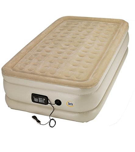 Serta Air Mattress w/ Comfort Coil and Remote - Twin