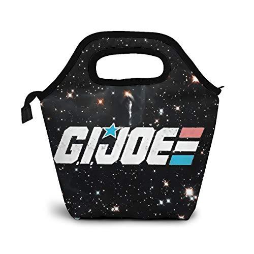 Gi Joe Lunch Box Bag Reusable For Travel, Picnic, Office