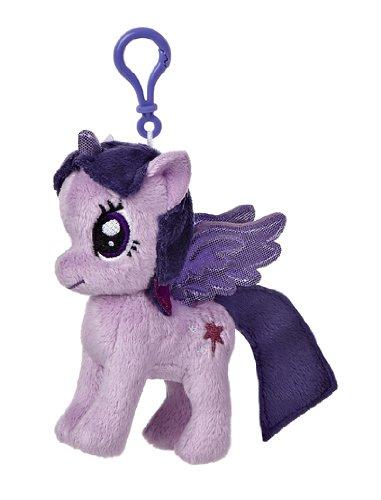 Aurora World My Little Pony Clip-On Princess Twilight Sparkle Pony Plush, 4.5'