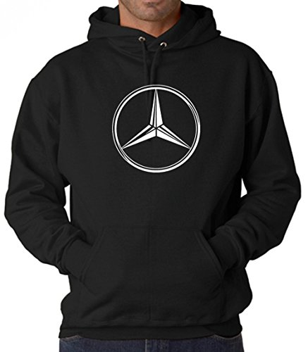 Mercedes-Benz AMG Maybach Emblem Unisex Hoodies Sweatshirts (Mercedes-Benz Emblem, Large)