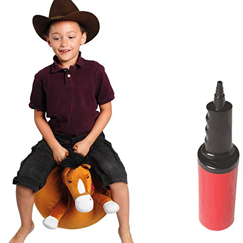 WALIKI Horse Hopper Ball for Kids | Hippity Hop | Jumping Hopping Ball | Sit & Bounce (Large: Ages 6-9, Horse)