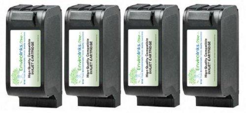 EnviroInks Compatible 4-Pack Hewlett-Packard 23 (C1823D)